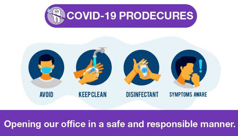 Wells Family Dental Covid 19 procedures